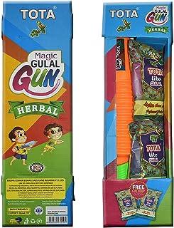 VRINDAVANBAZAAR.COM Tota Herbal Magic Gulal Gun for Holi Celebration