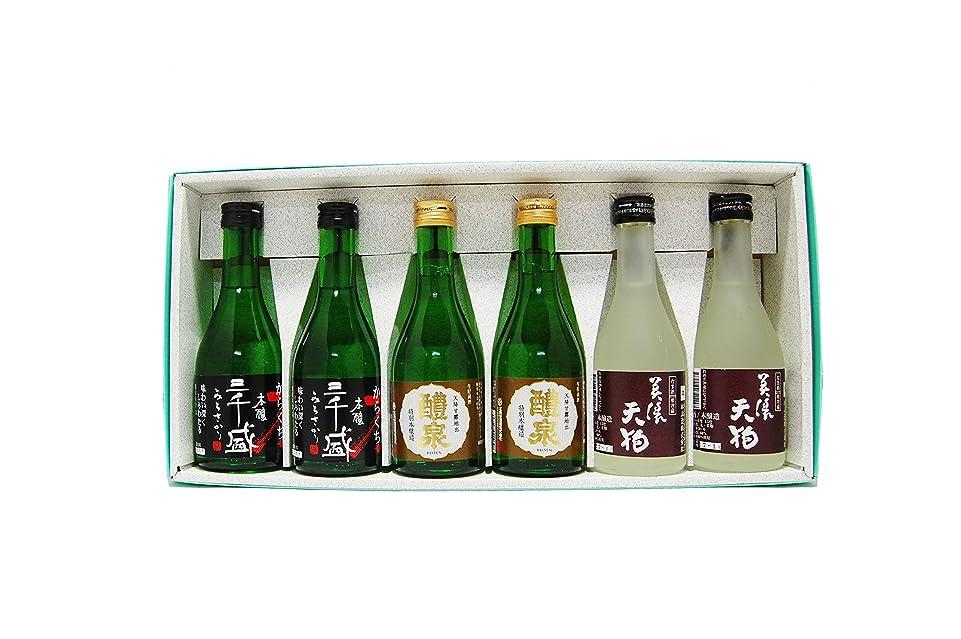統治可能いとこソビエト【要冷蔵】岐阜銘酒飲み比べセット 300ml×6本セット