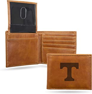 NCAA Rico Industries Laser Engraved Billfold Wallet, Tennessee Volunteers