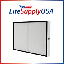 LifeSupplyUSA Replacement True HEPA Compatible with Kenmore 83195 F-K3 Filter fits 83254 83396 85254 Air Purifiers