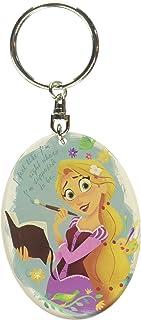 Disney Tangled - Rapunzel Lucite Key Ring Key Accessory