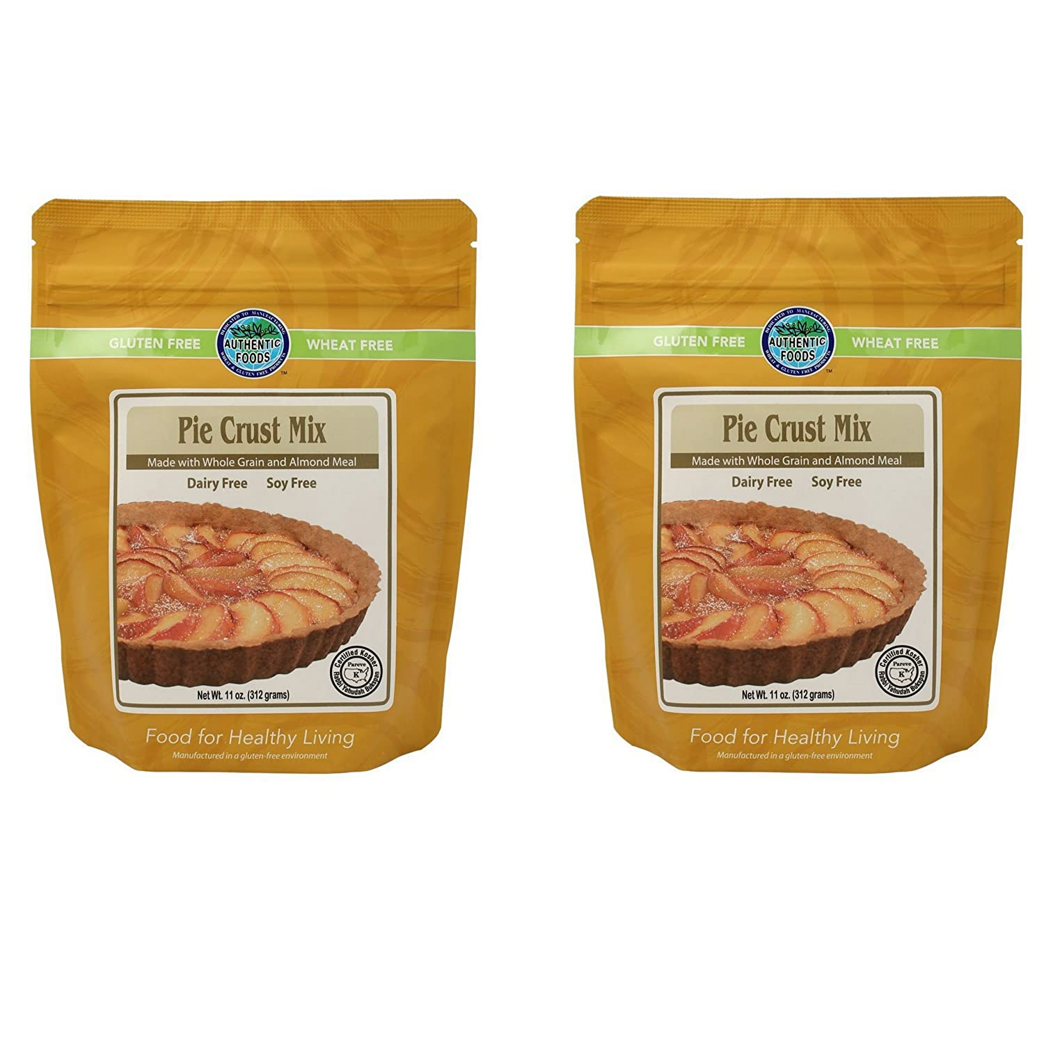 Authentic Foods Pie Crust Mix- Pack Max 43% OFF Virginia Beach Mall 2