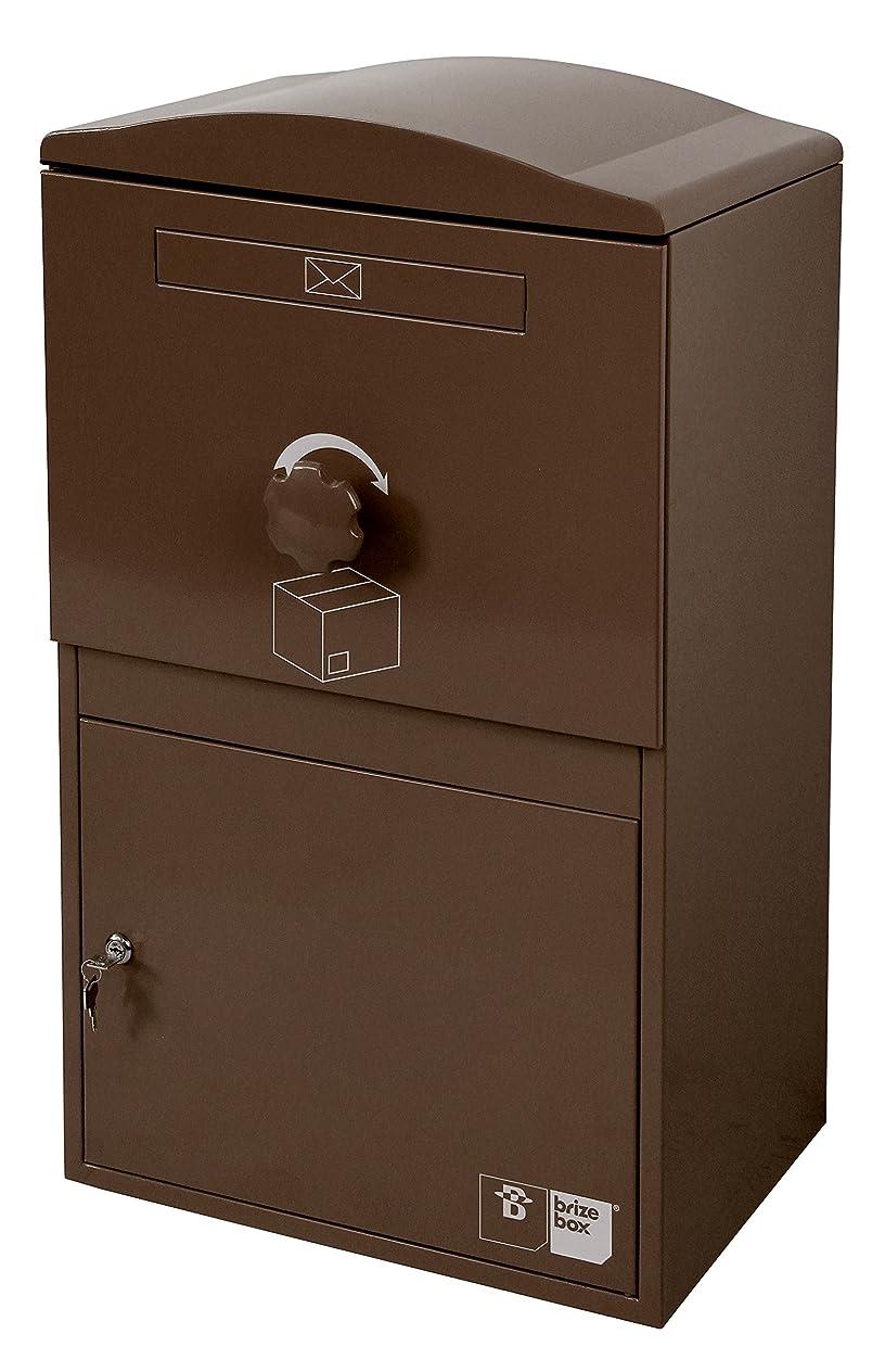 虫ご近所サラダ【日本初上陸】Brizebox(ブライズボックス)デザイン性と機能性を兼ね備えた シンプルでスマートな宅配ボックス|Large Size(ラージ)【全8色】| (ショコラ)