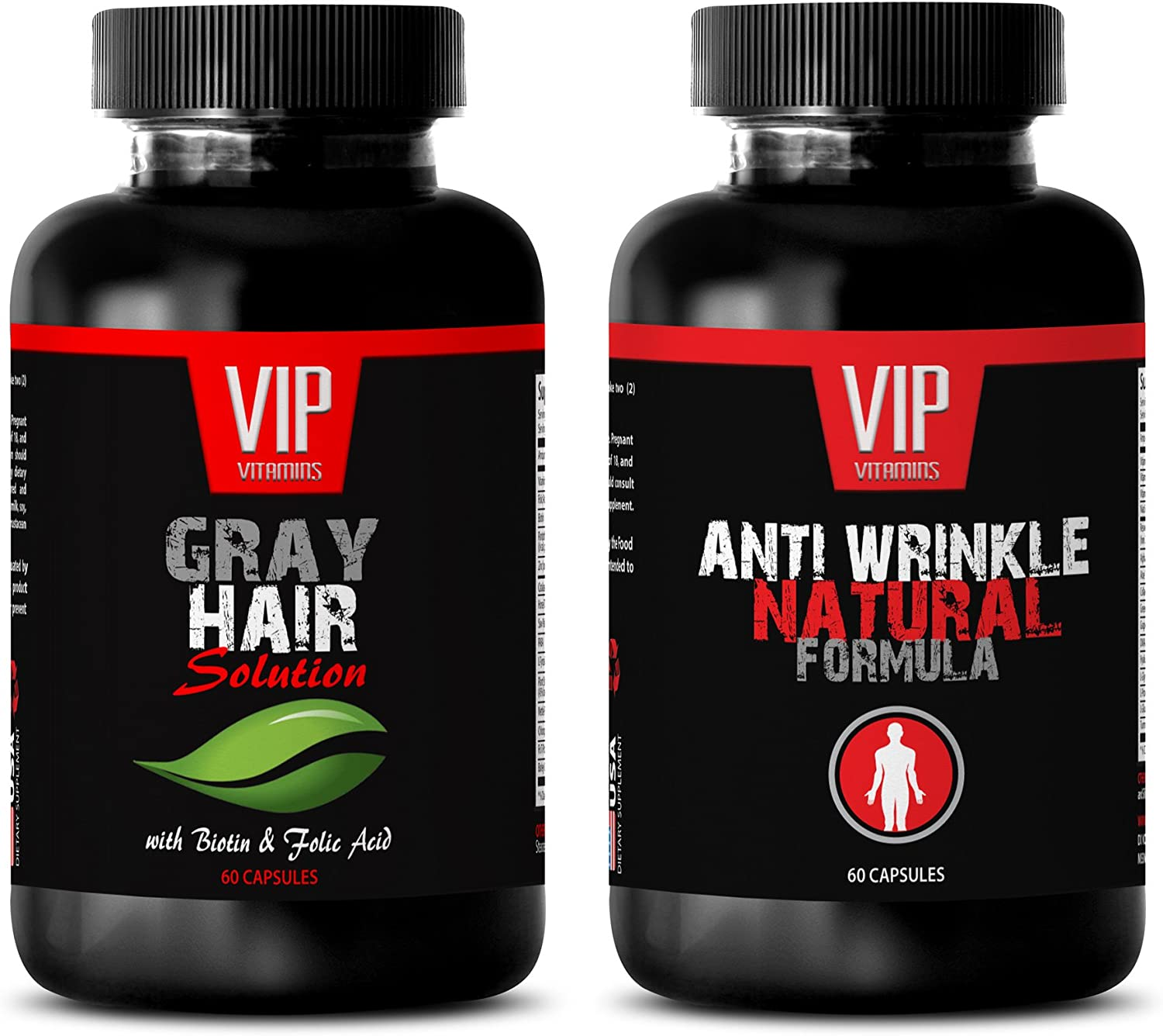 antioxidant Health - overseas Gray Hair Form Anti Solution Wrinkle – Cash special price