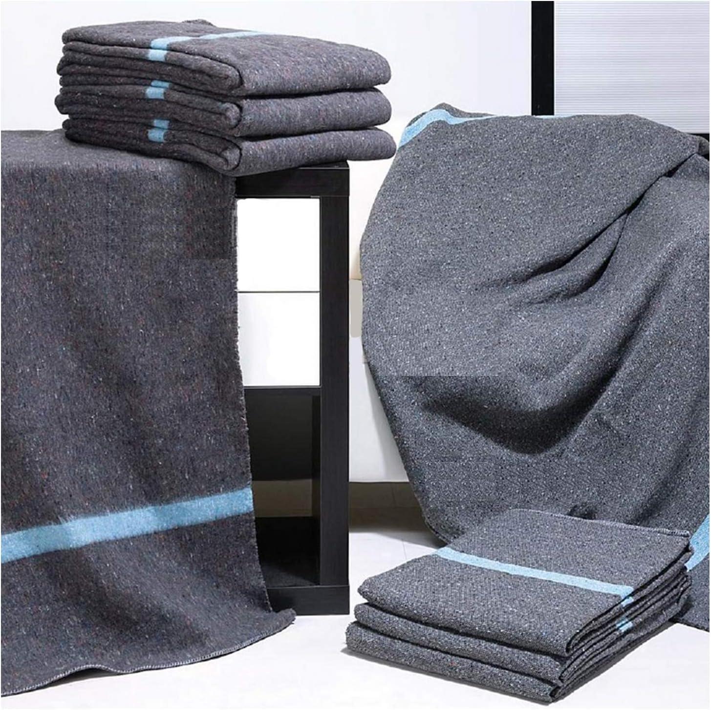 PimPam Factory - Pack de 2 Mantas Protectoras Perchadas para Mudanzas   140x200   410gr   Fabricado en España   para Mascotas, Yoga   Protección y Seguridad en el Transporte   Cubre y Protege Muebles