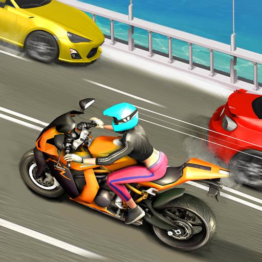 Juegos de carreras de bicicletas en carretera: juegos de moto Moto X3m Race