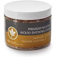 Outset 76535 Kiln-Dried Natural... Outset 76535 Kiln-Dried Natural Hickory Wood Smoking Chips, 6 oz, Brown