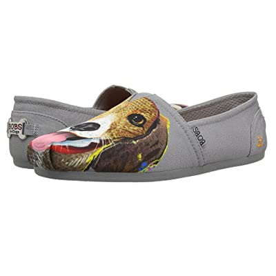 BOBS from SKECHERS Bobs Plush Beagle Bud (Charcoal) Women