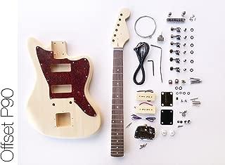 DIY Electric Guitar Kit - Offset P90 Build Your Own Guitar Kit