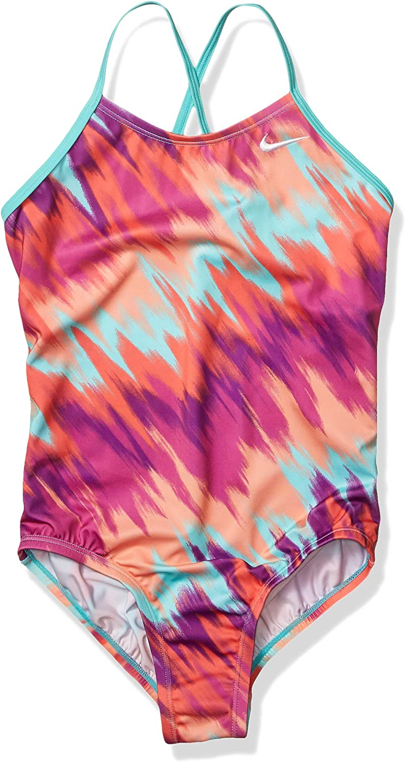 Super Special SALE held Nike Popular products Girls' Big Crossback Swimsuit Piece One