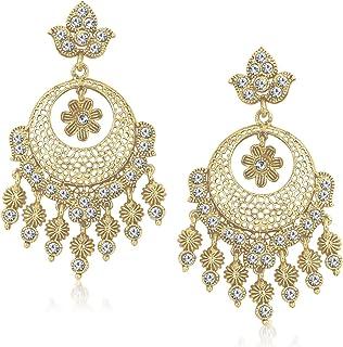 256b150a4 MEENAZ Jewellery Gold Plated Ear Rings for Girls in American Diamond Earring  for Women in Jewellery