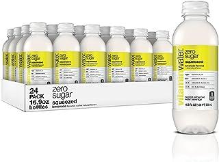 vitaminwater zero squeezed, electrolyte enhanced water w/ vitamins, lemonade drinks, 16.9 Fl Oz (24 Count)