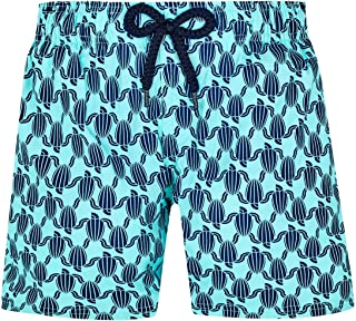 Vilebrequin - Boys - Swimwear Stretch Armor Turtles