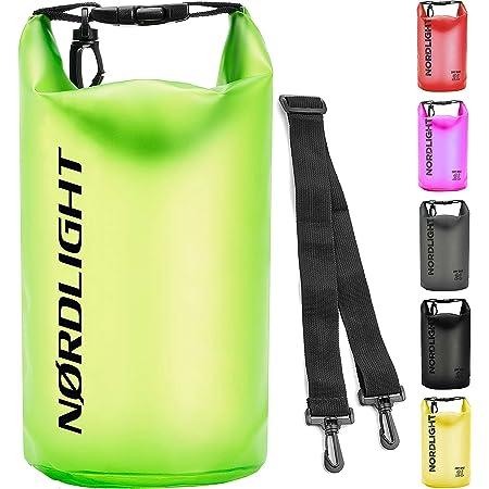 Nordlight Dry Bag wasserdichte Rucksäcke und Duffle Bags - in verschiedenen Größen 2l, 5l, 10l, 20l, 25l, 35l, 60l | 100% wasserdichte Handyhülle und Beutel