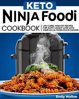 Keto Ninja Foodi Cookbook: Low Carb, High Fat Recipes for Rapid Weight Loss with Your Ninja Foodi Multi-Cooker