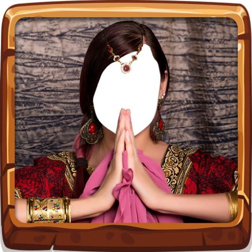 Indische Hochzeit Schmuck Montage