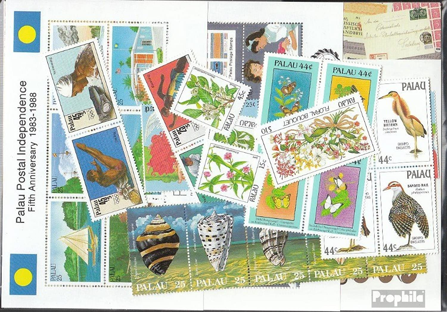 PalauIslands 1988 Complete Volume in clean Conservation (Stamps for collectors)