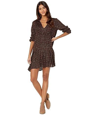 Rip Curl Shadow Heart Dress (Black) Women