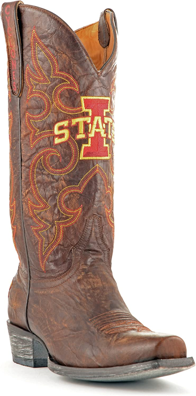 NCAA mens Men's Iowa State University Board Room Style Boot