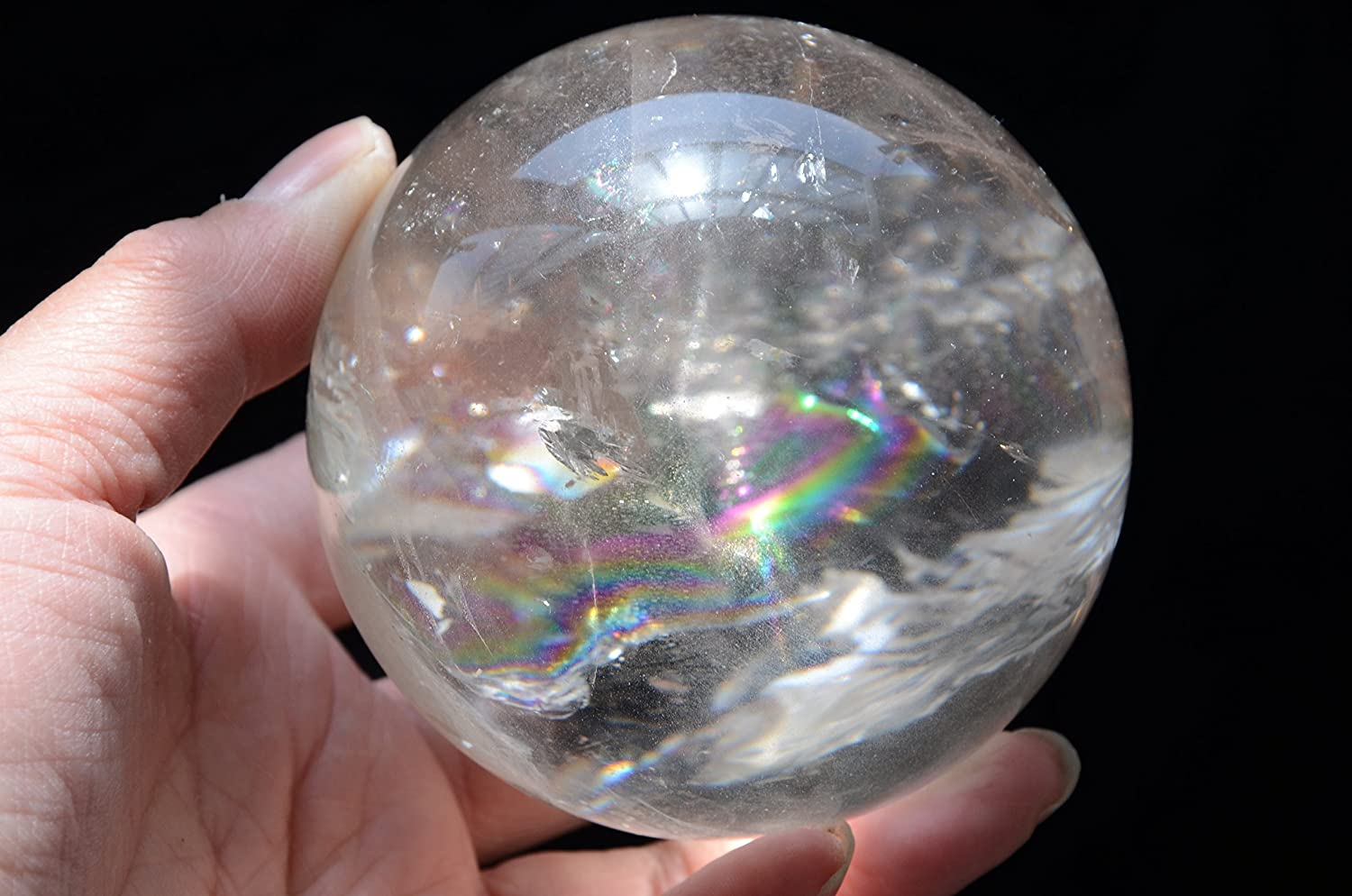Real Tibet Himalayan High outlet Japan Maker New Altitude Quartz Rainbow Crystal Clear
