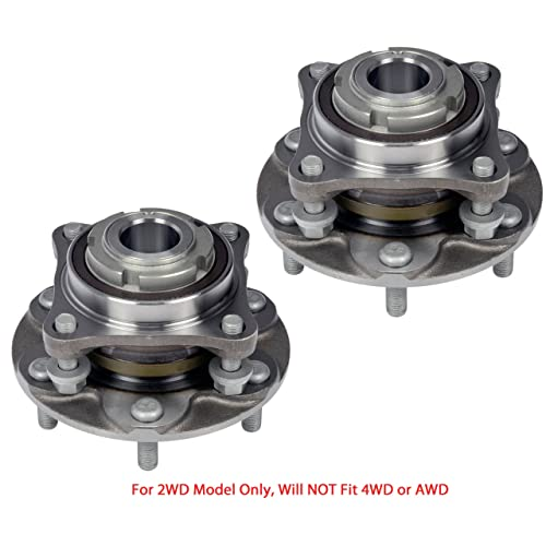 FRONT WHEEL HUB BEARING ASSEMBLY FOR  2007-2014 TOYOTA TUNDRA 2WD RWD