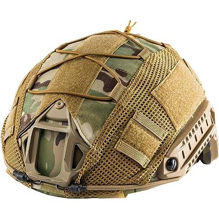 QHIU Casco táctico Combate Militar Protecciones Ligero PJ ...