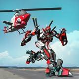 Gioco di trasformazione robot volante in elicottero per bambini - ultima guerra del carro armato 2018