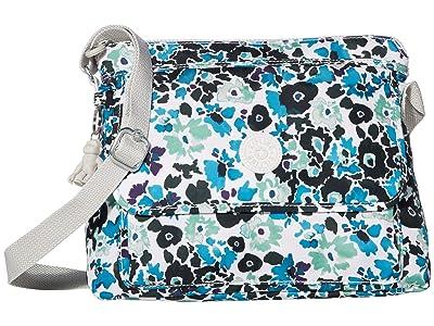 Kipling Aisling Crossbody Bag (Blue Field Floral) Handbags