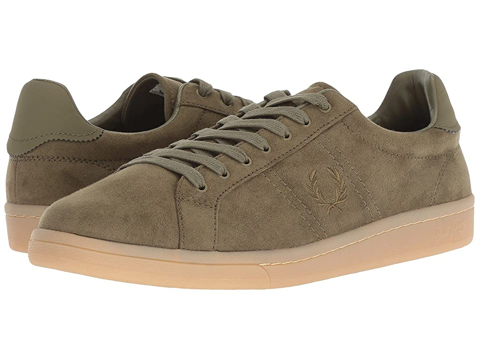 cee25945f Fred Perry B721 Microfibre (Burnt Olive) Men s Shoes