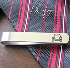 VW Tie Clip, VW Beetle Gifts, Groomsmen Tie Clip, Tie Clips for Men, Beetle Tie Bar, Custom Tie Clip, Gifts for Boyfriend, Fathers Day Gift