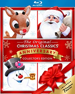 The Original Christmas Classics Collection: Rudolph the Red-Nosed Reindeer / Santa Claus Is Comin' to Town / Frosty the Snowman / Frosty Returns / Mr. Magoo's Christmas Carol / Little Drummer Boy / Cricket On the Hearth