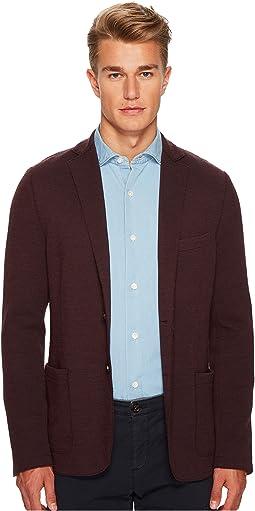 eleventy - Laser Cut Jersey Jacket