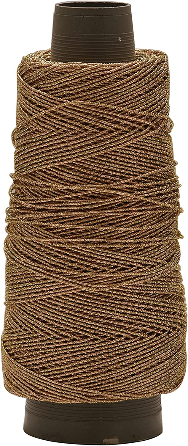 Kalagiri 12 Ply Zari Thread and 2021 autumn and winter new Embroidery Color Brown Popular popular Jewellery