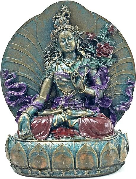 Bellaa 25327 Tara Statues Goddess Of Compassion Longevity 6 Inch