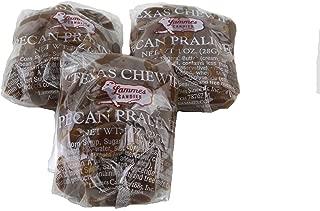 Lammes Candies Texas Chewie Pecan Pralines in Plain Box, 32 Oz