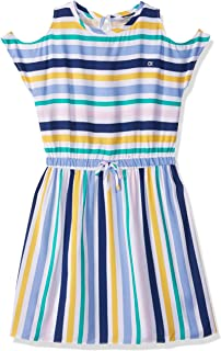 Calvin Klein girls Girls' Multiway Stripe Dress Casual Dress