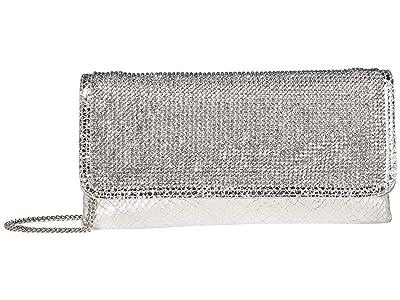 Steve Madden Btobi (Silver) Clutch Handbags