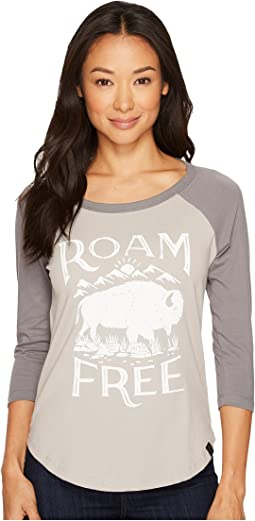 United By Blue 3/4 Roam Free Baseball Tee