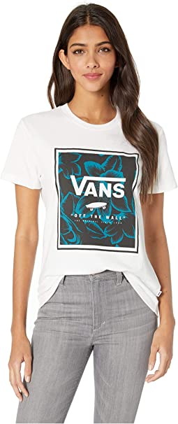 9b09c49298 Vans. Flying V Crew T-Shirt.  24.45. New. White