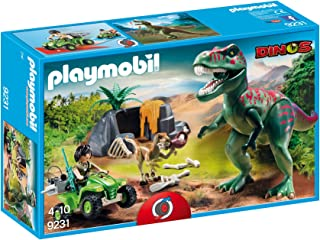 PLAYMOBIL® 9231 Explorer Quad with T-Rex - New 2017