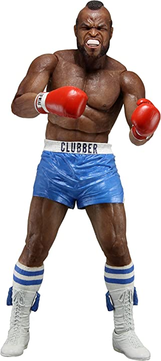 Clubber lang action figure blu pant. 40th anniversary neca rocky iii 53072