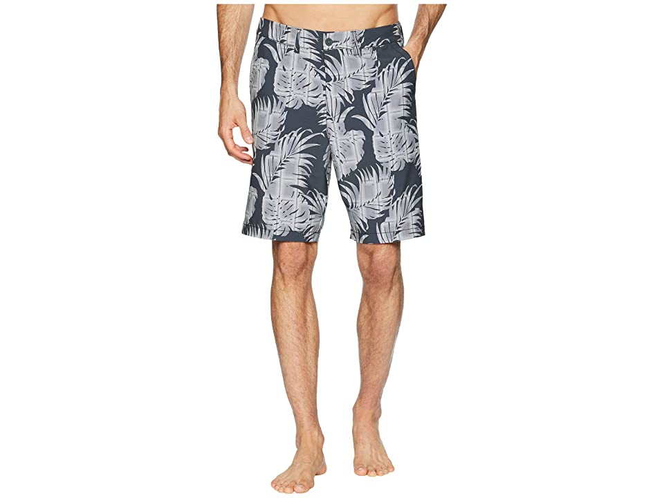 Tommy Bahama Cayman Palm Del Plaid Boardshorts (Coal) Men