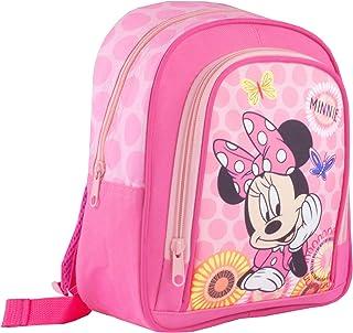 Mochila Escolar Rosa de Disney Minnie Mouse Chica
