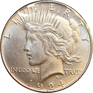 1924 S Peace Silver Dollar - Choice BU/MS/UNC