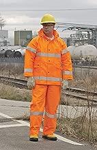 Tingley FR Rain Jacket, Hi-Vis Orange, 5XL - J53129