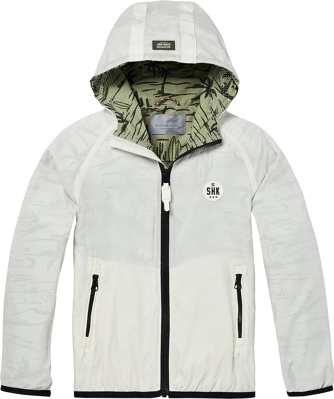 Scotch & & & Soda Jungen Jacke Double Layer Nylon Jacket with Tape Detail at Hood B077CQNKZ1  Geschwindigkeitsrückerstattung 8df0dc