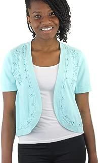 Sweater, Women's Soutache Borelo Shrug Cardigan