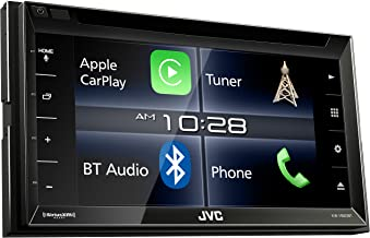 Renewed JVC KW-V25BT Multimedia Receiver Featuring 6.2 WVGA Clear Resistive Touch Monitor//Bluetooth 13-Band EQ