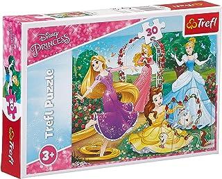 Trefl Disney Princesses Shaped Puzzle - 30 Pieces