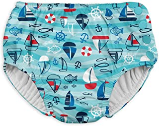 i play. Boys' Baby Snap Reusable Absorbent Swimsuit Diaper